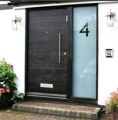 metal front doors for homes with glass 26 modern front door designs for a stylish entry shelterness