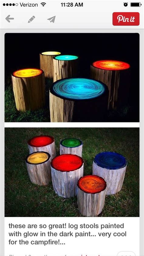 glow in the paint outdoor outdoor awesomeness paint logs with glow in the