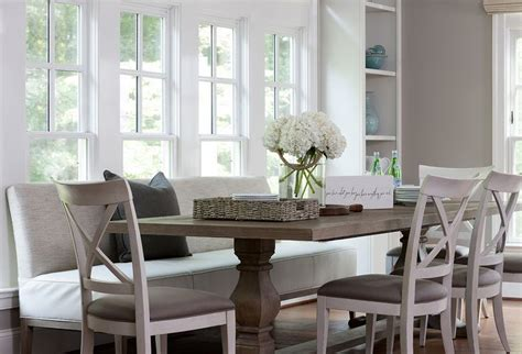 dining room set with bench seating dining table with upholstered bench and chairs