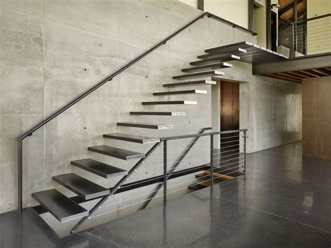 Garage Floor Design lawrence architects combines steel glass and concrete to