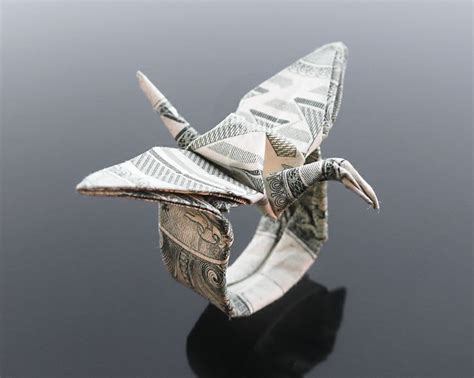 dollar origami crane 17 best images about origami cranes on origami