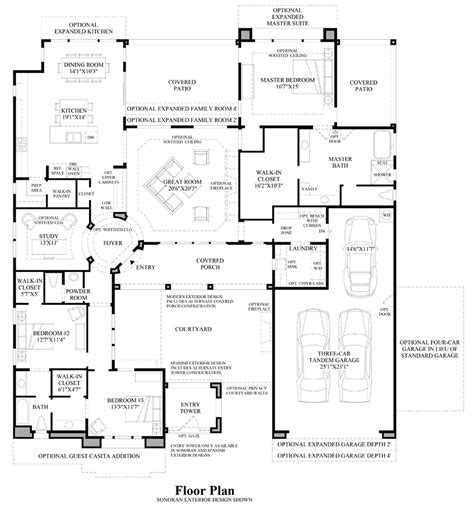 toll brothers floor plans toll brothers at los saguaros the estilo home design
