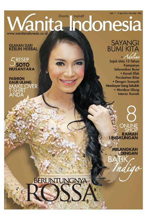wanita indonesia wanita indonesia magazine ed 1366 april 2016 scoop