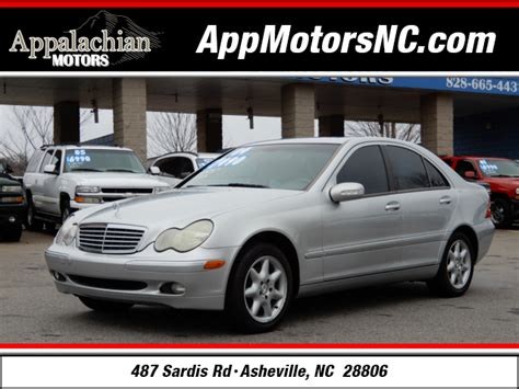 Mercedes Asheville Nc by 2004 Mercedes C Class C 240 For Sale In Asheville