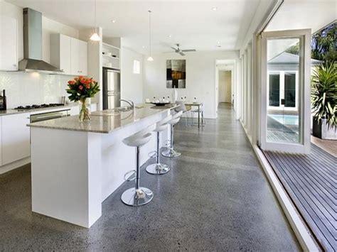 concrete kitchen design polished concrete floors modern polished concrete floors