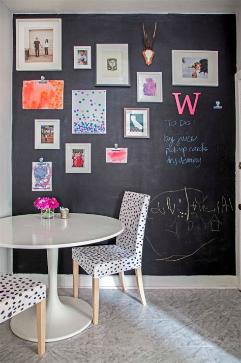 diy chalk paint wall amazingly easy diy chalk board walls for your