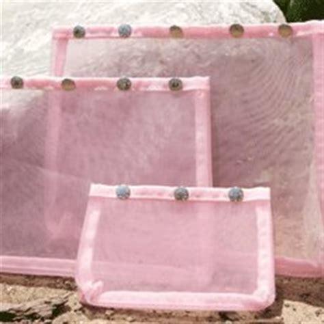 namaste knitting bags namaste oh snap set 3 pink mesh sewing