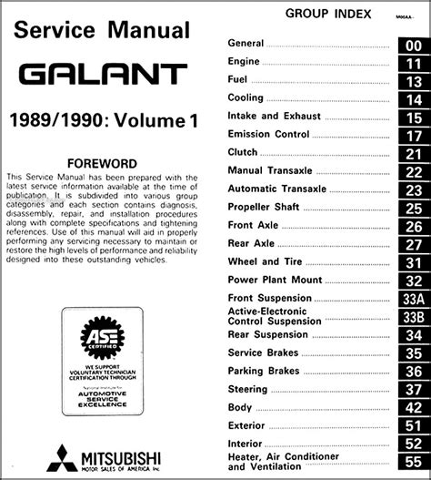 1989 mitsubishi mirage repair shop manual set original service manual repair manual download for a 1990 mitsubishi galant 1999 2000 mitsubishi