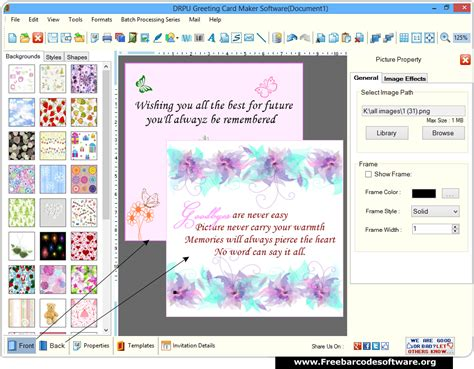 free card programs greeting card maker software creates occasional greeting