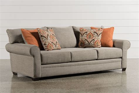 sofas in living room thompson sofa living spaces