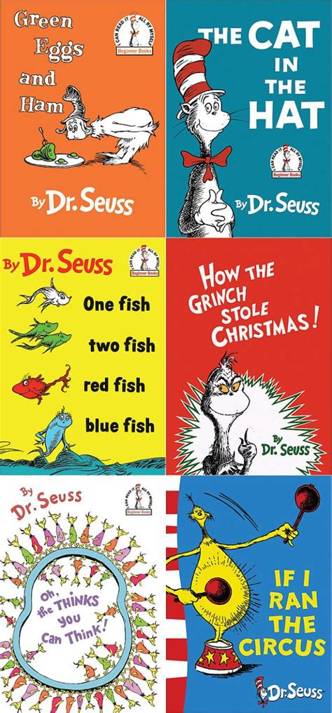 pictures of dr seuss book covers dr seuss book cover set by ersandcreations on etsy