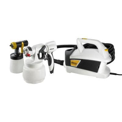 home depot spray paint machine wagner paintready system hvlp paint sprayer kit 0529003