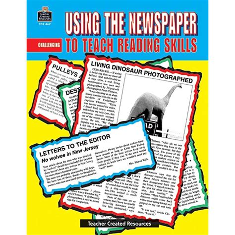 picture books to teach inference skills using the newspaper to teach reading skills tcr0467