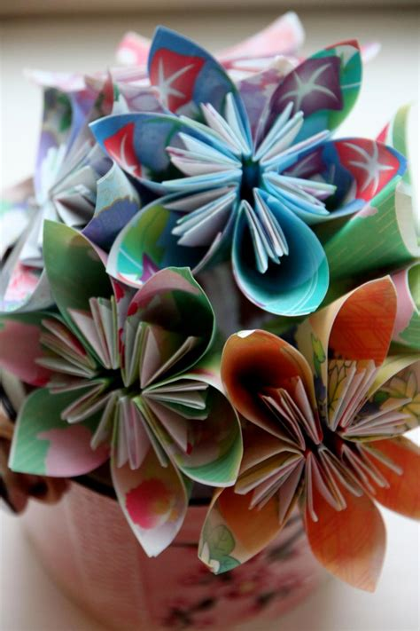 how to make a small origami flower step by step origami flower folding guide hgtv