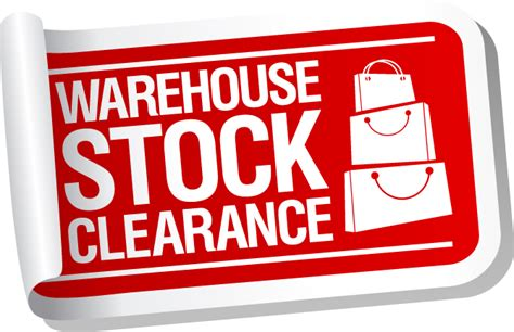 warehouse sales warehouse stock clearance bargains from david