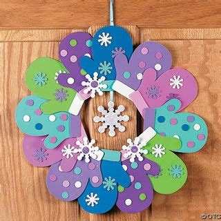 january crafts for warm up winter with mitten winter craft