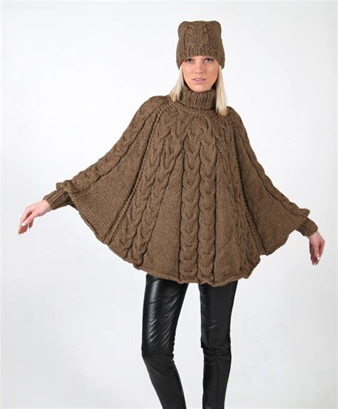 knitted ponchos 17 best ideas about knitted poncho on knit
