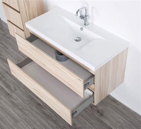 Badezimmermöbel Unter Lavabo by Waschtisch Set 80 Cm Kernahorn Nussbaum Badewelt