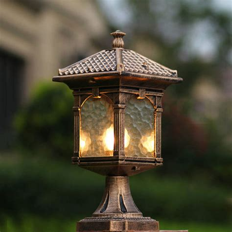 b b landscape lighting popular outdoor column lights buy cheap outdoor column lights lots from china outdoor column