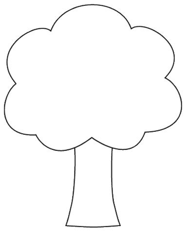 tree color in tree shape clipart to color 12cm this clipart drawing