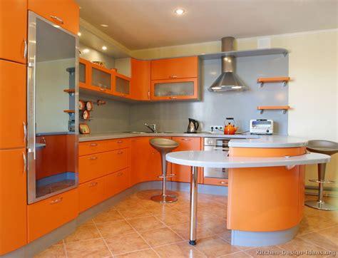 orange kitchen cabinets pictures of kitchens modern orange kitchens kitchen 7