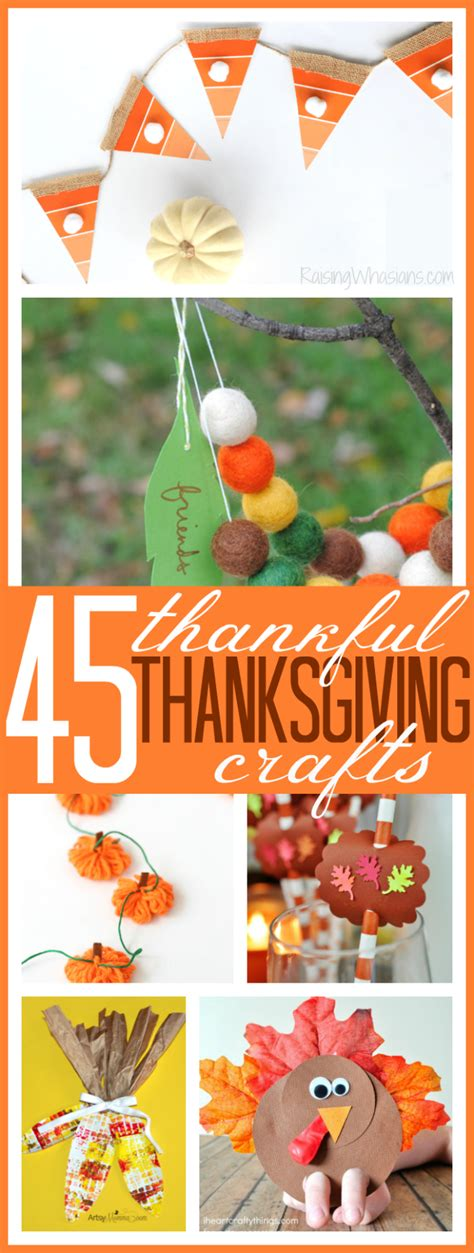 thankful crafts for 45 thankful thanksgiving crafts for raising whasians