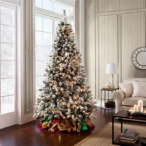 sears trees pre lit d b 7 5 alberta spruce pre lit tree sears