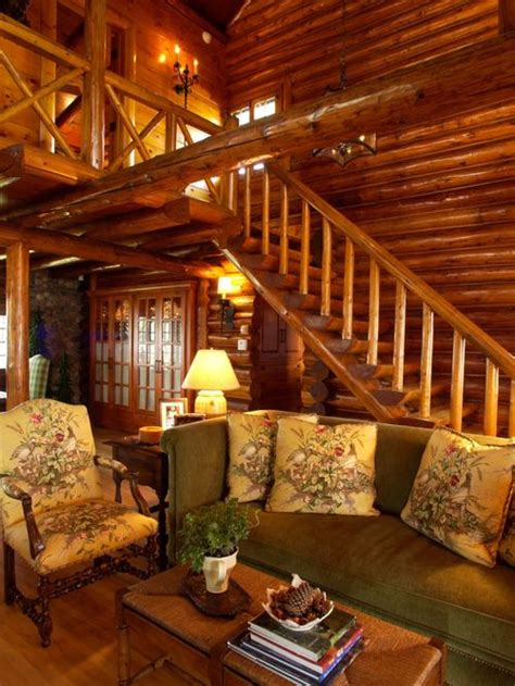 beautiful log home interiors log cabin interiors home design ideas pictures remodel