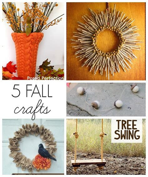 free fall crafts for projects and monday funday link 37