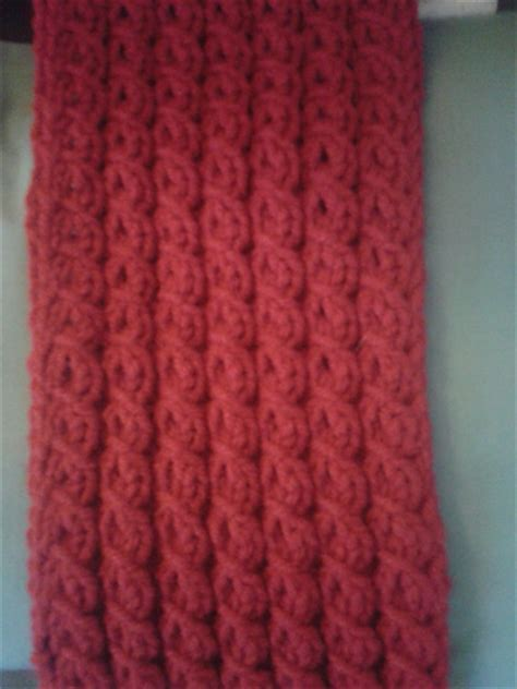mock cable knit scarf pattern wise knitting last gift on my list