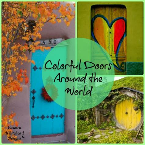 colorful doors colorful doors around the world whitehead designs