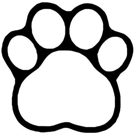 outlines rubber sts paw print petlover lagianget live best 25