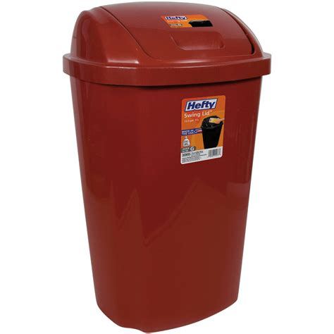 kitchen trash can kitchen trash can 13 5 gallon hefty swing lid waste