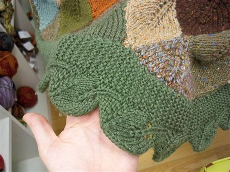 free knitted leaf patterns leaves to knit for autumn 16 free patterns grandmother