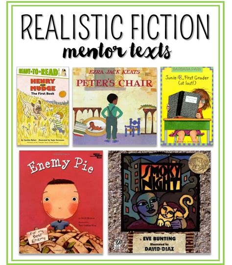 realistic fiction picture book writing realistic fiction in 1st and 2nd grade thank