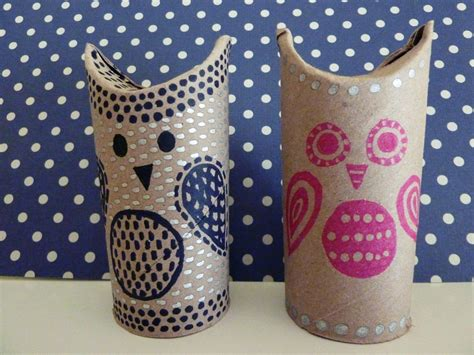 owl craft toilet paper roll friday craft day toilet paper roll owls