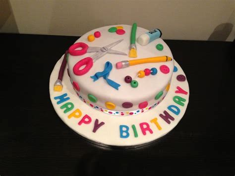 arts and crafts ideas for birthday arts and crafts birthday cake ideas