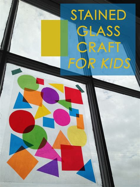 stained glass crafts for bauhaus stained glass craft for studio t