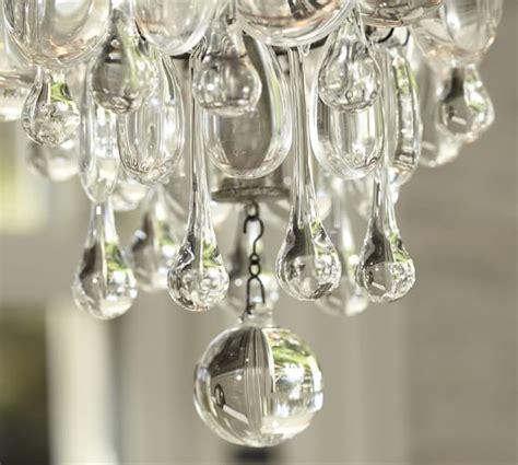 clarissa chandelier clarissa drop small chandelier pottery barn