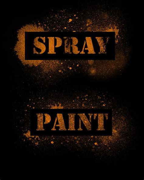 spray paint font in photoshop paint photoshop brushes psddude