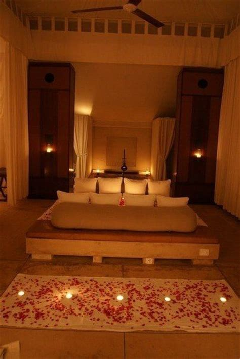 candle light bedroom luxurious room dim lighting home decor and