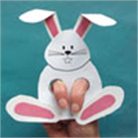 rabbit craft projects rabbit craft and rhyme easter craft