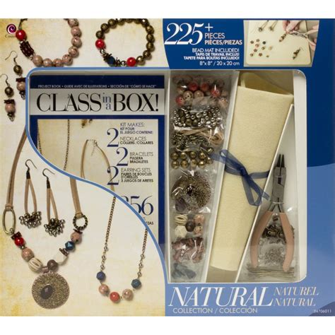 jewelry kits for jewelry class in a box kit for beginners