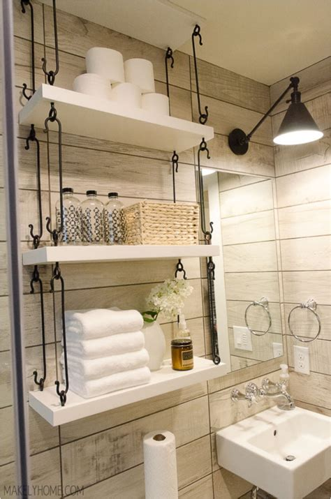 31 diy hanging shelves for every room in your home