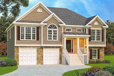 architectural plans for homes 3 bed split level house plan 75430gb architectural designs house plans