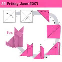 how to make a origami step by step simple origami fox japanese children s day celebration