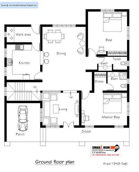 3 bedroom house plans in kerala kerala 3 bedroom house plans house plans kerala home