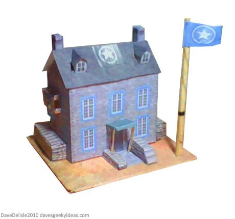 paper craft company company of heroes papercraft diagram hq command dave s