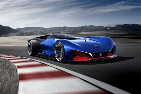 Sports Car Concept by Peugeot Dished Out A Delicious Hybrid Sports Car Concept