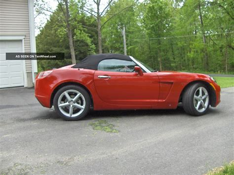 Pontiac Sky by 2007 Saturn Sky Base Convertible Cousin To The